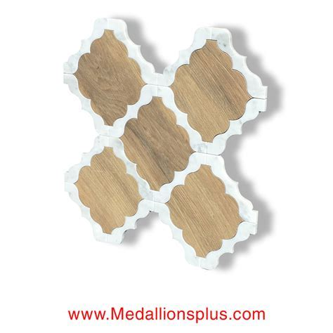 Waterjet Tile   Design 30 Marble   Wood Porcelain C