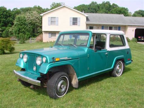 willys jeepster commando find used 1970 kaiser willys jeepster commando hardtop