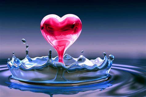 imagenes de amor animadas en 3d para descargar fondo pantalla corazon 3d amor