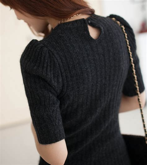 Bodycon Knit Dress Qiy 2fb rib knit bodycon dress kstylick korean fashion k pop styles fashion