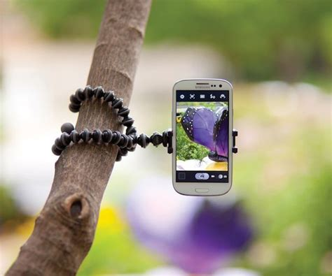 Gorilla Gurita Tripod Holder U Smartphone Android Iphone joby griptight gorillapod stand for smartphones 30 15 minute news