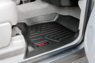 Floor Mats For A 2011 Chevy Silverado Heavy Duty Fitted Floor Mat Set Front Rear For 2007 2013