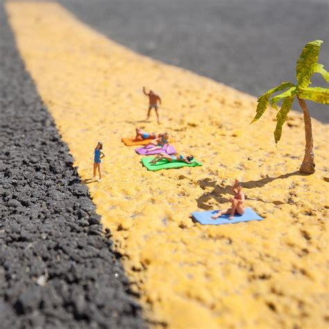 Miniature by The Miniature Street Interventions Of Slinkachu Colossal