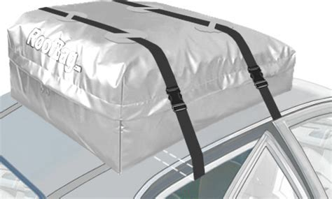 Car Top Carrier No Rack by Roofbag Explorer Cargo Carrier Fits Cars Without Rack