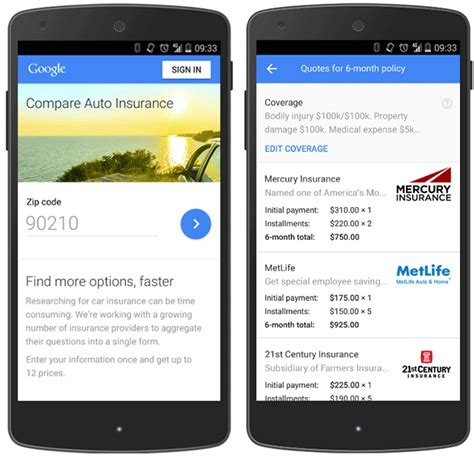 Google Launches Car Insurance Portal Upsetting Yet Another
