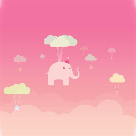 pink elephant wallpaper wallpapers