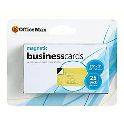 Officemax Business Cards