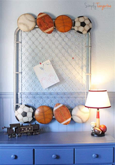 kids sports themed bedroom all star sports themed room traditional kids san diego by simply tangerine