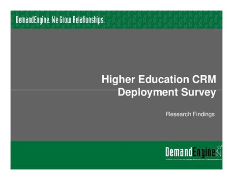 crm for higher education technosoft higher education crm software deployment 2012 research