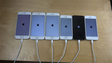 iphone 7 vs iphone 6s vs iphone 6 vs iphone se vs iphone 5s vs iphone 5 which is faster