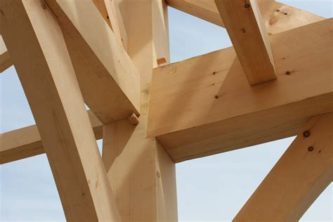 Mortise Tenon Joined Barn Timber Frame Joinery Post And Beam Barns The Barn Yard Great