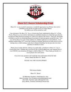 Letter For Scholarship Donations Sample Scholarship Fund Donation Request Letter In Word