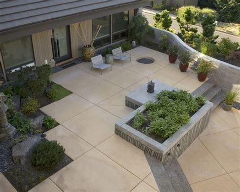 Pin By Newland Moorefield On Living Pinterest Poured Concrete Patio Designs