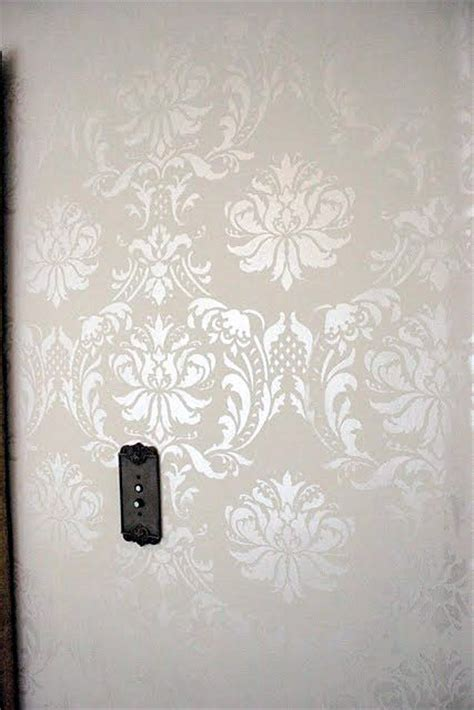 25 best ideas about damask wall stencils on