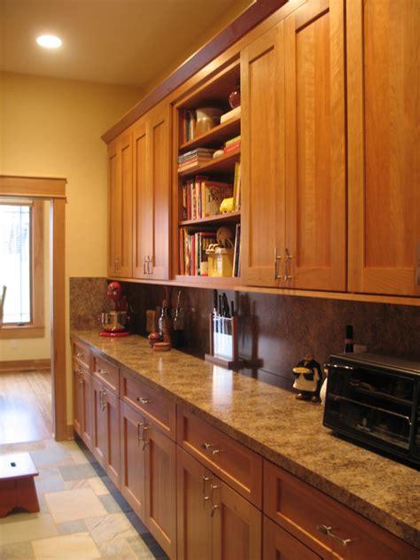 kinney walk  pantry craftsman kitchen