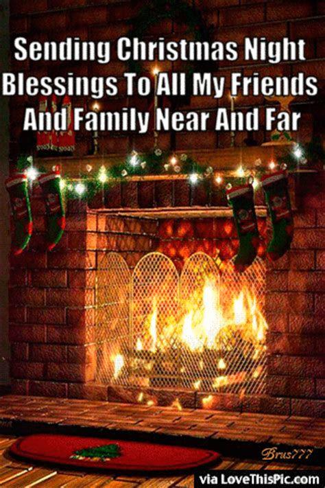 christmas night blessings quote pictures   images  facebook tumblr pinterest