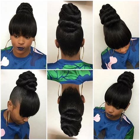 black ponytail hairstyles with 3ds twist 1674 best images about hair styles on pinterest ghana