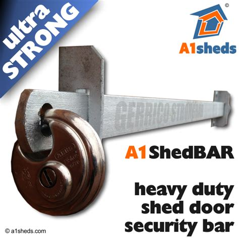 Shed Bar Security by A1 Shedbar Shed Door Security Bar