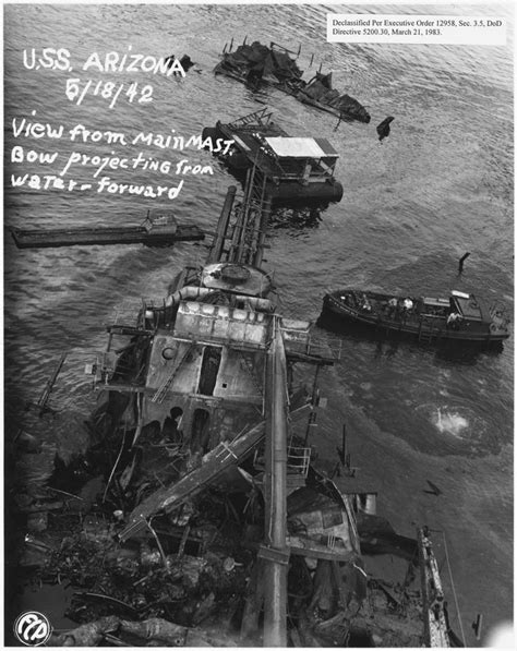 pearl harbor bodies image of the mess from 1941 richard w darnell