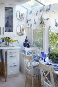Blue And White Kitchen by Blue And White Kitchen Breakfast Area For The Home