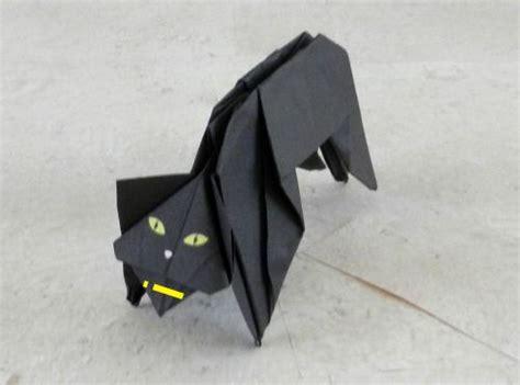 Origami Black Cat - joost langeveld origami page