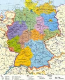 Political Map Of Germany by Political Map Of Germany Images