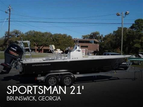 sportsman boats used for sale used bay sportsman boats for sale boats