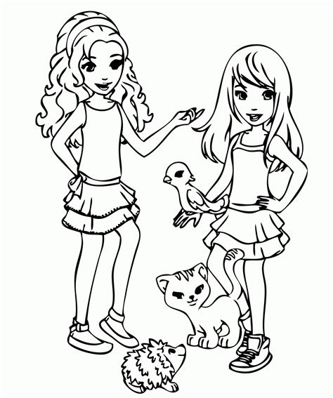 Legos Coloring Pages To Print by Lego Friends Coloring Pages To Print Az Coloring Pages