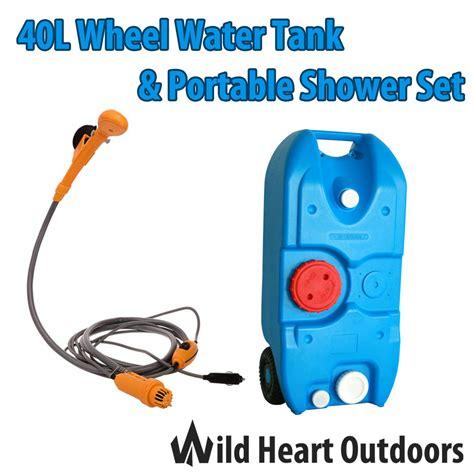 Mc O1 Cover Consina 40l 40l portable wheel water tank portable shower set cing caravan storage motorhome waste