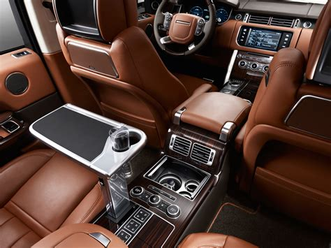 black land rover interior 2014 range rover autobiography black interior photo 8