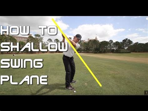 shallow golf swing how to shallow your golf swing plane 60 sec golf tips
