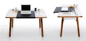 Cool Small Desks Compact And Stylish Laptop Desk For The Home Office With Cool Cord Management Digsdigs