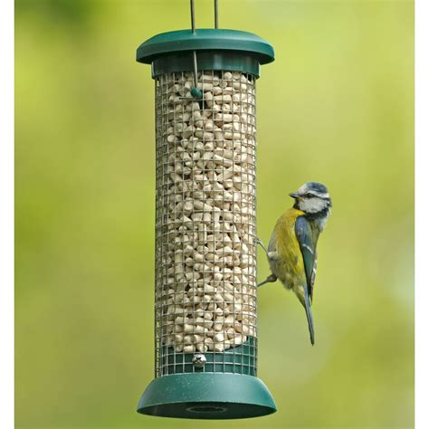 rspb classic small nut nibble feeder rspb bird feeders