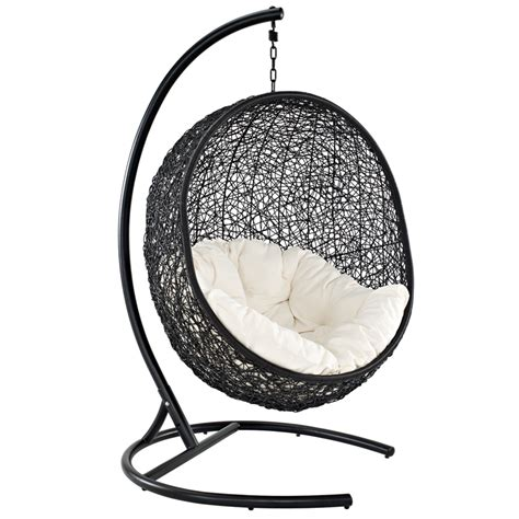 Hanging Chairs Outdoor | nest outdoor hanging chair modern outdoor lounge chairs
