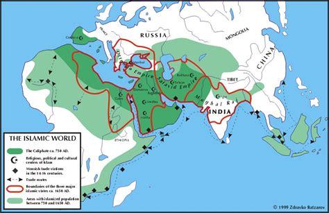 Islamic World Map by Ancient Islamic World Map Www Imgarcade Com Online