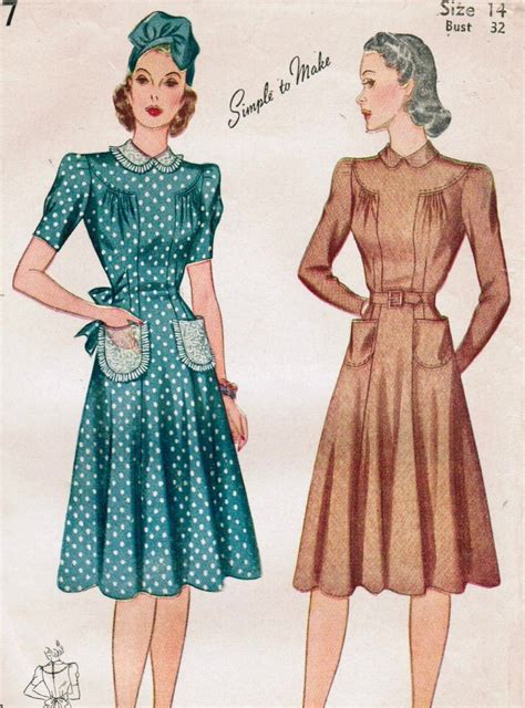 pattern for vintage dress 1940s dress patterns www pixshark com images galleries