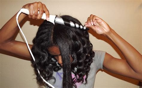 easy curling wand for permed hair using a curl wand on natural hair curlplease