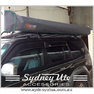 side awnings for 4wds 30 second awning sydney ute accessories 30 second