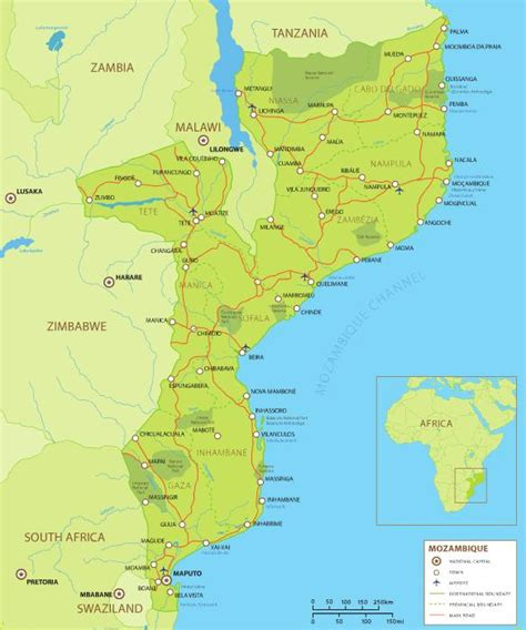 africa map mozambique book cheap flights from johannesburg to mozambique