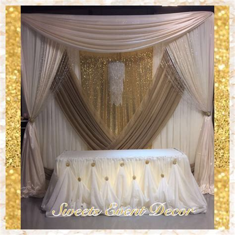 Wedding Draping Decor by: Sweets Event Decor   Tent
