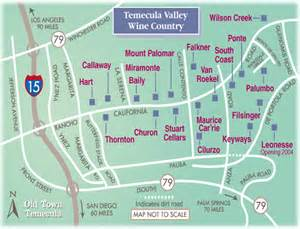 vineyards map temecula valley wine country thornton mount palomar