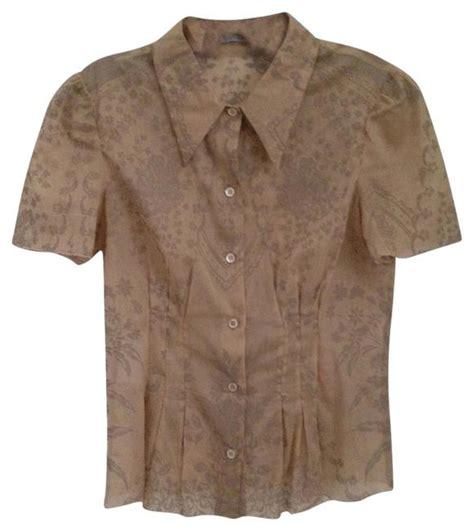 Button Prada prada khaki button shirt