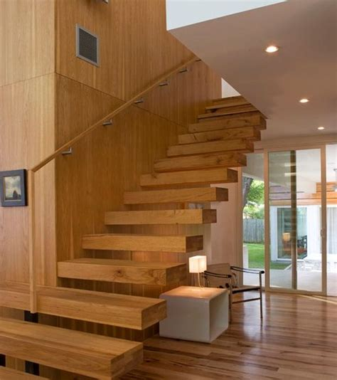 Classy Home Interiors suspended style 32 floating staircase ideas for the