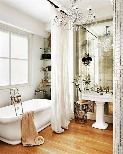 mirror shower curtain long shower curtain mirror wall for the home pinterest