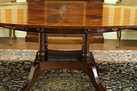 60 to 88 to oval mahogany dining table high end