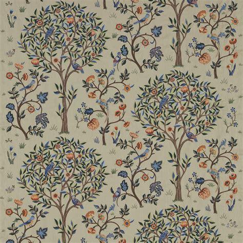 tree pattern fabric uk morris co kelmscott tree fabric russet forest 230341