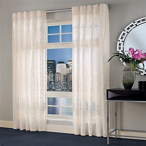 select curtains designer s select maximus sheer inverted pleat window