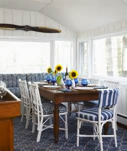 furniture rock amp in the red white and blue for the th daley white and blue cottage dining room with mixed seating