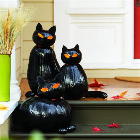 diy black cat o lanterns jodeze home and garden