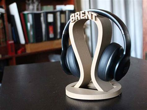 printed personalized headphone holder gadgetsin